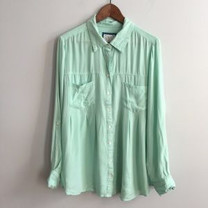 Mint blouse from style & co